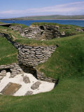 Skara Brae, Orkneys, Scotland, United Kingdom Photographic Print by Michael Jenner