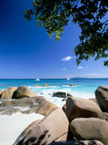 Beach, Anse Lazio, Island of Praslin, Seychelles, Indian Ocean, Africa Photographic Print by Lee Frost