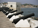 Battlements, Cape Coast Castle, Dating from 1652, Unesco World Heritage Site, Ghana, West Africa Photographic Print by David Poole