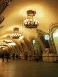 Kievskaya Metro Station, Moscow, Russia Photographic Print by Christopher Rennie