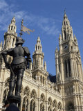 Rathaus (City Hall), Vienna, Austria Photographic Print by Michael Jenner