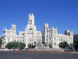 Palacio De Comunicaciones, Plaza De La Cibeles, Madrid, Spain Photographic Print by Hans Peter Merten