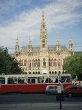 Rathaus (City Hall), Vienna, Austria Photographic Print by Christopher Rennie