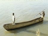 Dug out Canoe on the River Nile at Mongala, Southern Area, Sudan, Africa Photographic Print by Jack Jackson