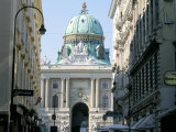 The Hofburg Viewed from Kohl Markt, Vienna, Austria Photographic Print by Michael Jenner