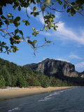 Ao Nang Beach, Krabi, Andaman Sea, Thailand, Southeast Asia Photographic Print by Christopher Rennie
