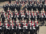 Horse Guards at Trooping the Colour, London, England, United Kingdom Photographic Print by Hans Peter Merten