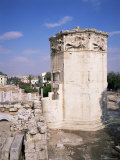 Tower of the Winds, Roman Agora, Athens, Greece Photographic Print by Hans Peter Merten
