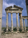 Roman Cardo Maximus, Main Columned Street, Dating from the 3rd Century Bc, Apamea, Syria Photographic Print by Christopher Rennie