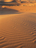 Sand Dunes of the Erg Chebbi, Sahara Desert Near Merzouga, Morocco, North Africa, Africa Photographic Print by Lee Frost
