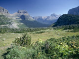 View East from Logan Pass, Glacier National Park, Montana, USA Photographic Print by Julian Pottage