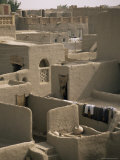 Mud-Walled Houses, Mopti, Mali, Africa Photographic Print by David Poole