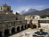 La Merced Church and Monastery, 1749 to 1767 AD, Antigua, Unesco World Heritage Site, Guatemala Photographic Print by Christopher Rennie
