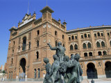Plaza De Toros, Madrid, Spain Photographic Print by Hans Peter Merten