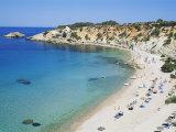 Beach, Cala d'Hort, Ibiza, Balearic Islands, Spain, Mediterranean Photographic Print by Hans Peter Merten