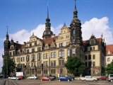 Castle, Dresden, Saxony, Germany Photographic Print by Hans Peter Merten