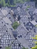 Old Town, Freudenberg, Siegerland, North Rhine-Westphalia (Nordrhein-Westfalen), Germany Photographic Print by Hans Peter Merten