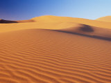 Sand Dune of the Erg Chebbi, Sahara Desert Near Merzouga, Morocco, North Africa, Africa Photographic Print by Lee Frost