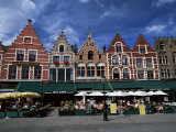 The Markt, Bruges, Belgium Photographic Print by Lee Frost