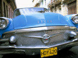 Buick, Old American Car, Havana, Cuba, West Indies, Central America Photographic Print by Lee Frost
