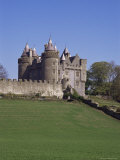 Killyleagh Castle Dating from the 17th Century, County Down, Northern Ireland Photographic Print by Michael Jenner