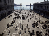 The Piazzetta, Venice, Veneto, Italy Photographic Print by Michael Jenner