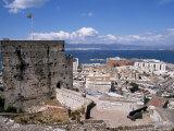 Ruins of Moorish Castle, Gibraltar, Mediterranean Photographic Print by Michael Jenner