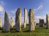 Standing Stones of Callanish, Isle of Lewis, Outer Hebrides, Scotland, United Kingdom Photographic Print by Lee Frost