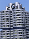 Headquarters of Bmw, Munich, Bavaria, Germany Photographic Print by Hans Peter Merten