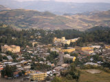 Aerial View of the Town Taken from Goha Hotel, Gondar, Ethiopia, Africa Photographic Print by David Poole