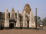 Larabanga Mosque, Reputedly the Oldest Building in Ghana, Ghana, West Africa, Africa Photographic Print by David Poole