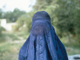 Woman in a Burka, Afghanistan Photographic Print by Jack Jackson