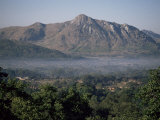 View Across the Zomba Plateau, Malawi, Africa Photographic Print by David Poole