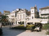 Town Hall, Corfu Town, Corfu, Ionian Islands, Greece Photographic Print by Hans Peter Merten