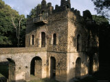 The Pavilion of Delight Built for King Fasilidas, Gondar, Ethiopia, Africa Photographic Print by David Poole