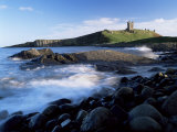 Dunstanburgh Castle, a National Trust Property, from Embleton Bay, Northumberland, England Photographic Print by Lee Frost
