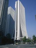 Exterior of the Yasuda Kasai Kaijo Building, Shinjuku, Tokyo, Japan Photographic Print by Christopher Rennie