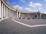 St. Peter's Square, Vatican, Rome, Lazio, Italy Photographic Print by Hans Peter Merten