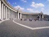St. Peter's Square, Vatican, Rome, Lazio, Italy Photographic Print by Hans Peter Merten