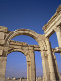 Graeco-Roman Columned Main Street, AD, Unesco World Heritage Site Photographic Print by Christopher Rennie