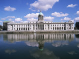 Customs House and River Liffey, Dublin, Eire (Republic of Ireland) Photographic Print by Hans Peter Merten