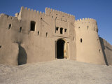 Gatehouse, 17th Century Citadel, Arg-E Bam, Bam, Unesco World Heritage Site, Iran, Middle East Photographic Print by David Poole