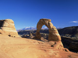 Delicate Arch, Arches National Park, Moab, Utah, USA Photographic Print by Lee Frost