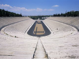 Panathenaikos Stadium, Athens, Greece Photographic Print by Hans Peter Merten