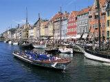 Nyhavn, Copenhagen, Denmark, Scandinavia Photographic Print by Hans Peter Merten
