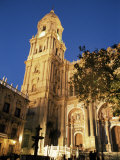 Cathedral Dating from the 16th to 18th Centuries, Malaga, Andalucia, Spain Photographic Print by Christopher Rennie