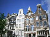 Canalside Houses, Amsterdam, Holland Photographic Print by Lee Frost