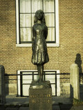 Statue of Anne Frank, Amsterdam Photographic Print by Christopher Rennie