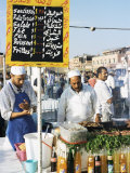 Food Stalls, Djemaa El Fna, Marrakesh, Morocco, North Africa, Africa Photographic Print by Lee Frost