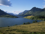 Waterton Lakes and Hotel Prince of Wales, Rocky Mountains, Alberta, Canada Photographic Print by Hans Peter Merten